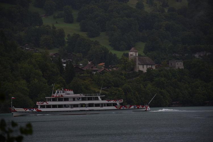 Burg Castle Ringgenberg Ruine Schiff Schifffahrt Schweiz Berner Oberland Bernese Oberland Boat Brienzersee Nautical Vessel Switzerland