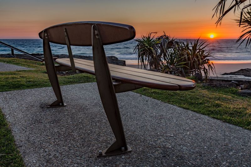 The best seat in the house to watch the sunrise Sea Beach Water Horizon Over Water Sun Sky Exploring Queensland Australia Outdoors Sunset #sun #clouds #skylovers #sky #nature #beautifulinnature #naturalbeauty #photography #landscape Hiking Scenics Vacations Exploring New Ground EyeEm Selects Beauty In Nature Rock - Object Tranquil Scene