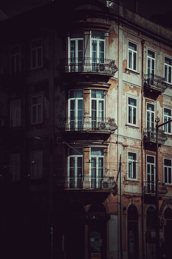 Building Exterior Window Built Structure Architecture Building Residential District No People Low Angle View City Outdoors Old Day Balcony Nature Wall House Railing Lighting Equipment Apartment Street EyeEm Best Shots EyeEmNewHere EyeEm Selects EyeEm Gallery The Architect - 2019 EyeEm Awards