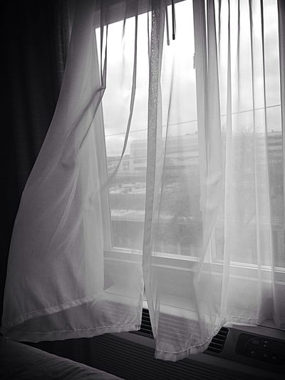 Curtain Hanging On Window