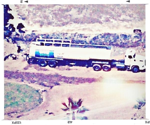 Camion Barranco Panoramica Desde Mi Ventana