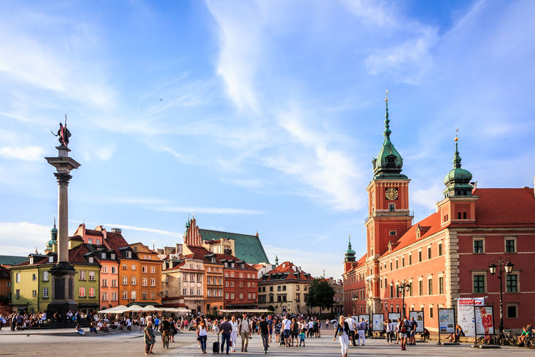 Architecture City City Life Cityscape EOS Old Town Poland Travel Warsaw Warsaw Poland Warszawa  Architecture Blue Sky Canon Canonphotography Capital Cities  Europe Summer Tourism Tourist Destination Travel Destinations
