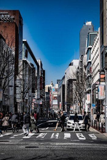福岡 Fukuoka Japan Architecture Transportation Built Structure Building Exterior Clear Sky City Outdoors Land Vehicle Sky No People Day