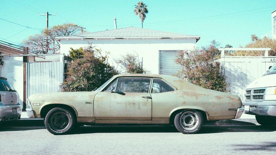 1967–1974 Chevrolet Nova near Abbot Kinney Car Chevy Chevrolet Chevynova Classic Classic Car NOVA Parkwayberlin ParkwayInCali Strreet Transportation #Vintage Car