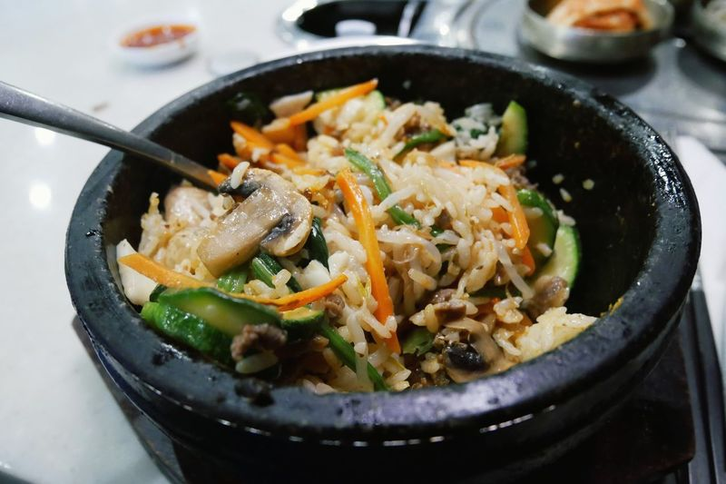 Close-up of food served in bowl