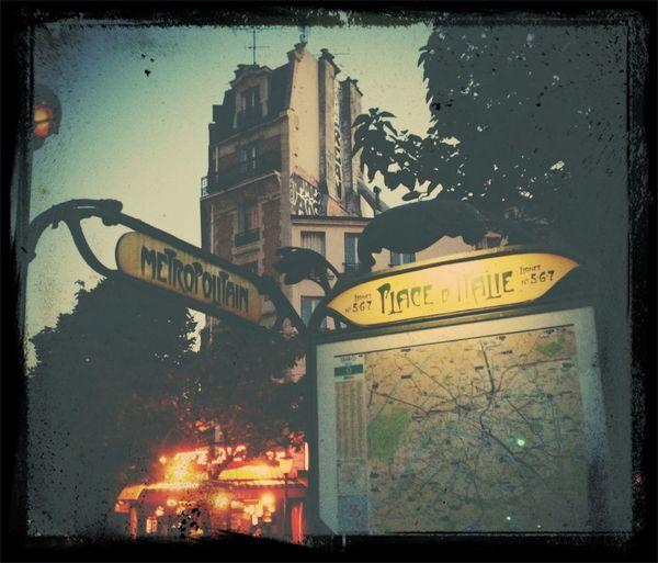 Le Métropolitain, place d'Italie City Of Love♡