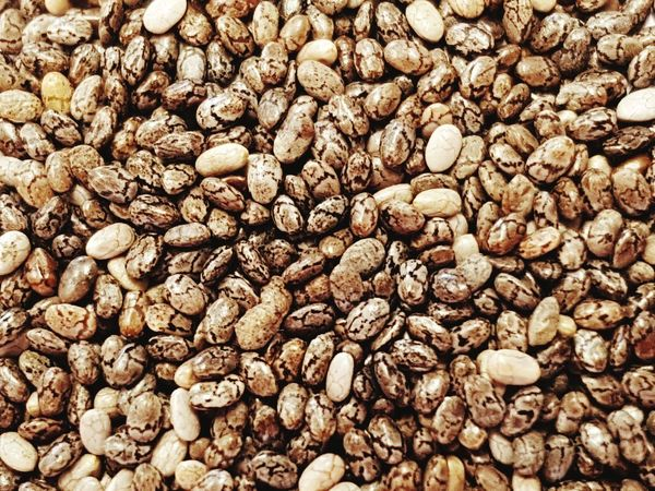 Chia seeds omega 3 Food And Drink Abundance Backgrounds Large Group Of Objects Full Frame No People Raw Coffee Bean Coffee Bean Food Close-up Indoors  Freshness Nature Day First Eyeem Photo
