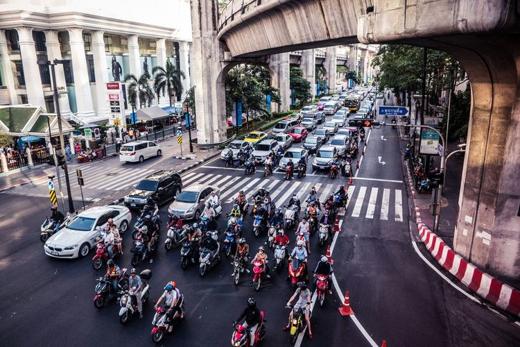 Spotted In Thailand Streetphotography Street Motorcycles Taking Photos Hello World Traffic Traveling Bangkok Check This Out EyeEm Best Shots Eye4photography  Hello World Taking Photos City City Life