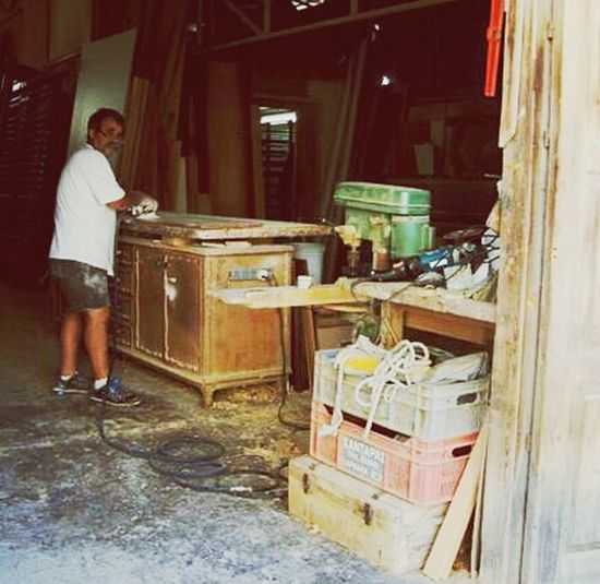 The Local carpenter My Travels