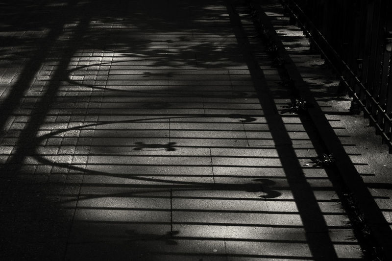 Black Black And White Brücke Day Geländer Muster No People Outdoors Schatten Schattenspiel  Shadow Shadow And Light Shadowplay Texture The Street Photographer - 2017 EyeEm Awards