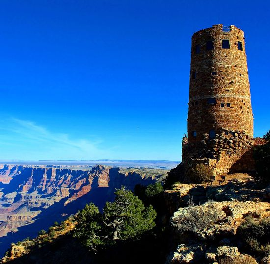 Dessert view watchtower Grandcanyon Arizona Architecture History Clear Sky Sky Loveit Hiking Adventures Landscape Hiker Dessert Gorgeous Amazing Hikingphotography Tranquil Scene Travel Destinations My Favorite Place