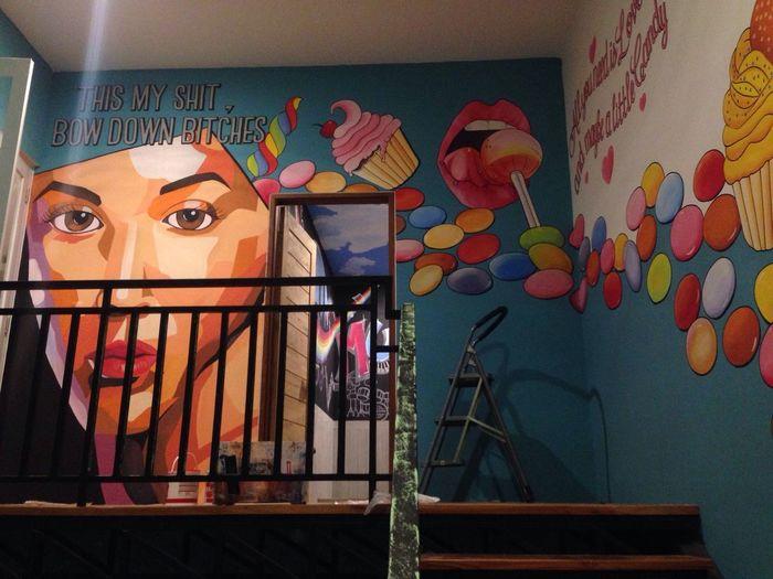 Memasyarakatkan mural dan memuralkan masyarakat Murals Art Painting Hobby