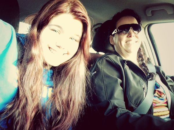 Road Trip With My Mother! (: Iloveher ♥ My Inspiration Love♡ Mom