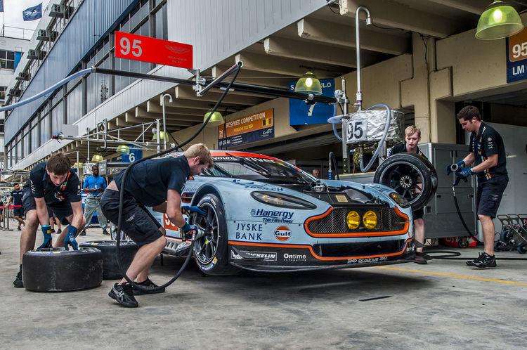Aston Martin Interlagos  LeMans, Pit Stop Racecar Sao Paulo - Brazil
