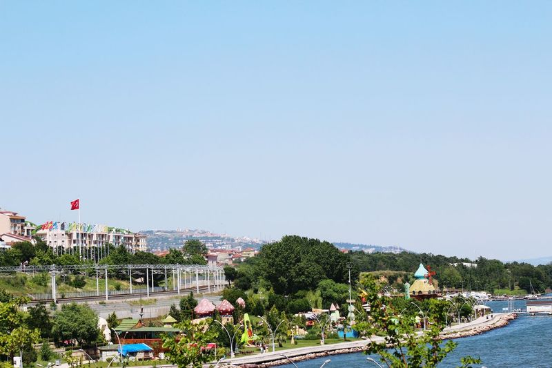 Eyem Best Shots ı Love My City Natural My Best Photo 2015 Canon Eos 1200d Day Houses Sea Beach Sky Nice Day Life Colorful Park Train Trees