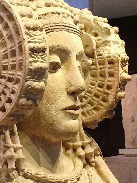 La Dama de Elche Museo Archeologico Madrid