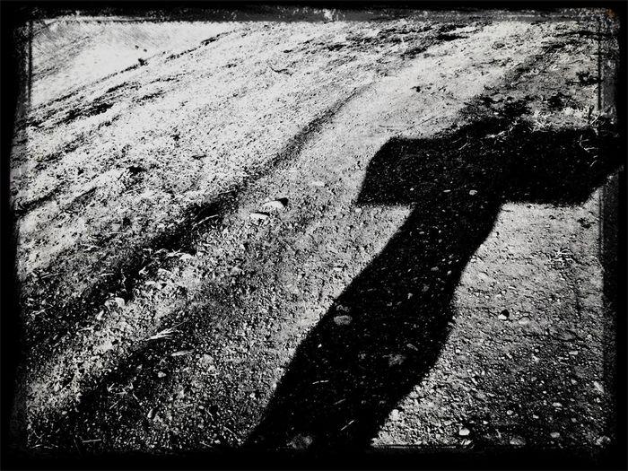 Black And White Monochrome A Cross Golgotha
