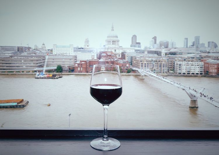 River Thames St Paul's Cathedral Taking Photos London Relaxing Enjoying Life My City Red Wine LONDON❤ City Of London Urban Exploration EyeEm Gallery Break Time London Photography London Lifestyle