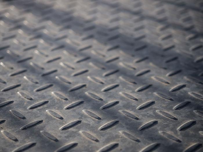 Full frame shot of tire tracks
