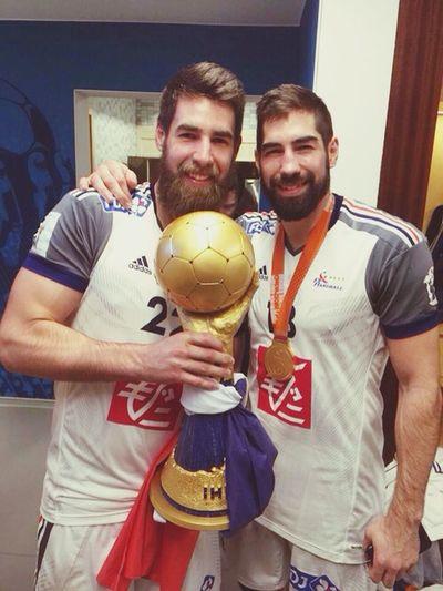 Nikola Karabtic Luka Karabatic Idols My Idols Love ♥ Handball Sport Brothers Forever