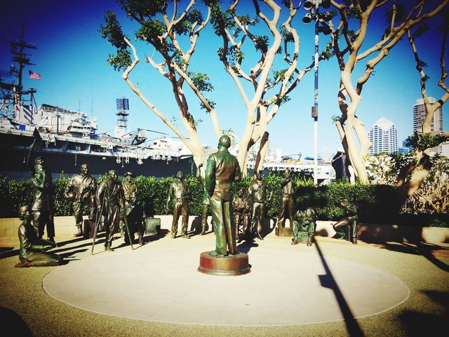 Bob Hope. History Bob Hope Statue USS Midway  USS Midway And San Diego  San Diego California While Strolling At The Park