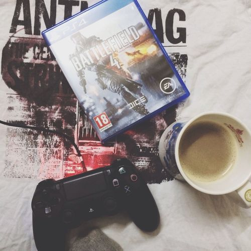 PS4 Battlefield Taking Photos Hello World