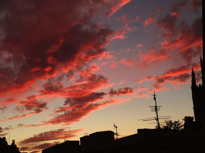 Sunset Red Sky