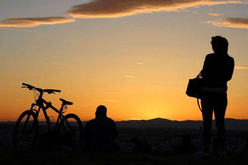 Park SPAIN Madrid Atardecer Siluetas Canon Canonphotography Photography Photographer Fotografia