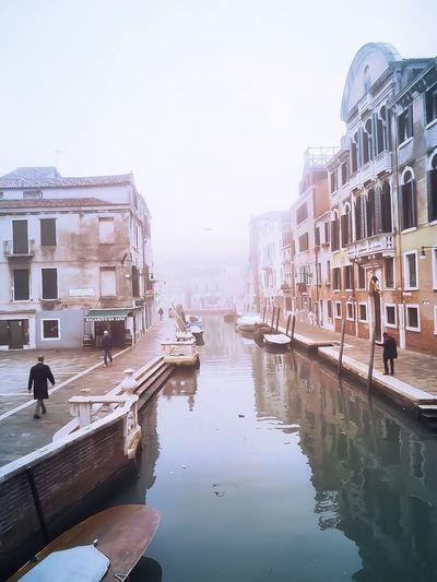 Venice, Italy Fog Venice Italy Celestalisblue Celestalis