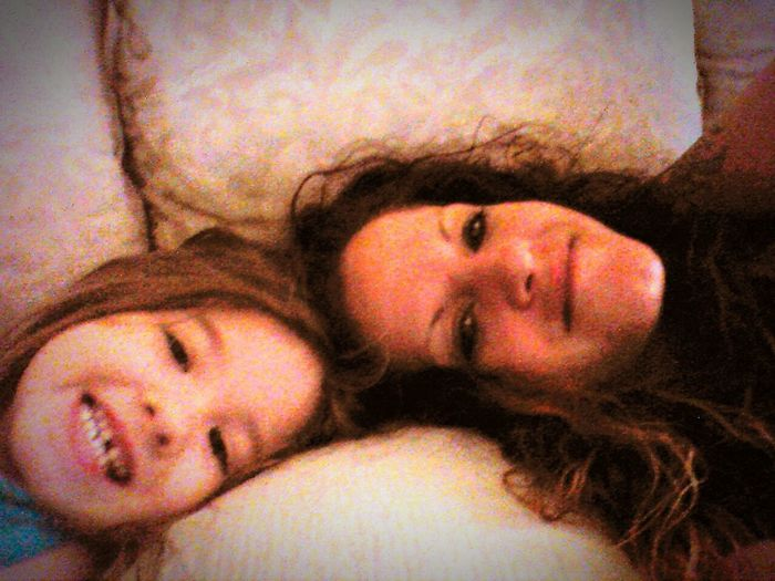 Check This Out Cheese! Good Morning Me And My Little Girl:)