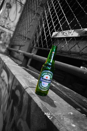 @2016 @b&w @beer @green @heineken @nikon @underground @wien Backgrounds Bottle Metal No People First Eyeem Photo