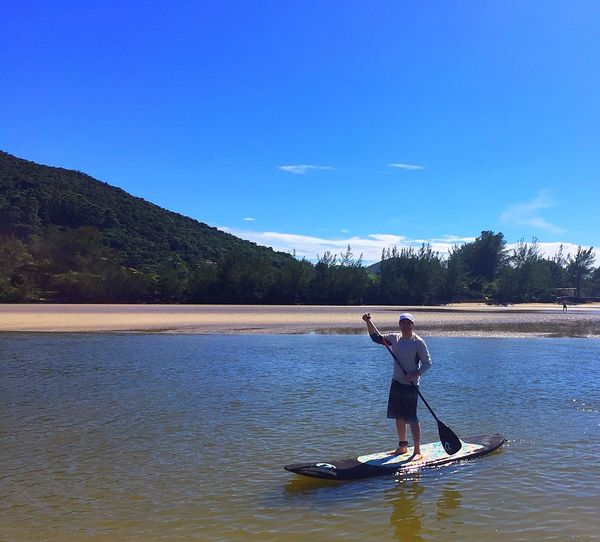 Stand Up Paddle First Eyeem Photo