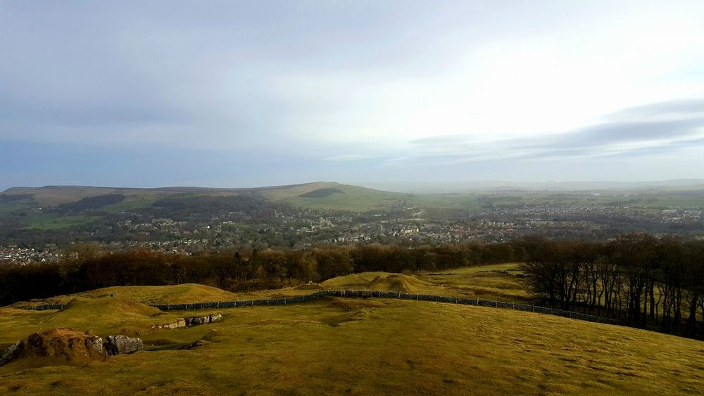 This is the wonderful view over Buxton which is just a few mins drive from home 😆💚😆 Rural Scene Nature Landscape Scenics Tranquil Scene Beauty In Nature No People Outdoors Nature_collection Nature Photography From My Point Of View Photography Is My Escape From Reality! Check This Out For Anyone Whos Interested The Purist (no Edit, No Filter) Peak District  Derbyshire Beautiful Tranquility Beautiful Day Tree