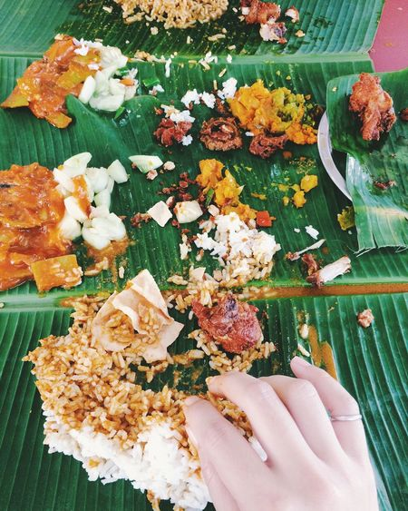 Lunch Food Yummy Enjoying Life Foods Ready-to-eat Yummy♡ Real Food No People Banana Leaf Local Food Local Food Culture Indian Food