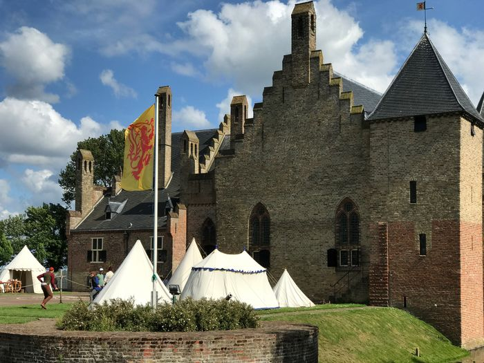 Radboud te Medemblik . Castle Kasteel Landmark Historic