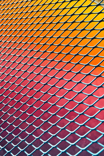 g r a d i e n t Outdoors Travel Travel Destinations Paris Pigalle Basketball Fence Fences Close-up Focus Focus On Foreground Detail Colors Colorful colour of life Palette Palette Colors Light Light And Shadow Shape Shapes And Forms Shapes Textured  Texture Full Frame Pattern Backgrounds No People Orange Color Repetition Indoors  Metal Sport Grid Selective Focus Textured  Design Day Abstract Red Architecture Ceiling Pattern, Texture, Shape And Form My Best Photo The Minimalist - 2019 EyeEm Awards The Architect - 2019 EyeEm Awards