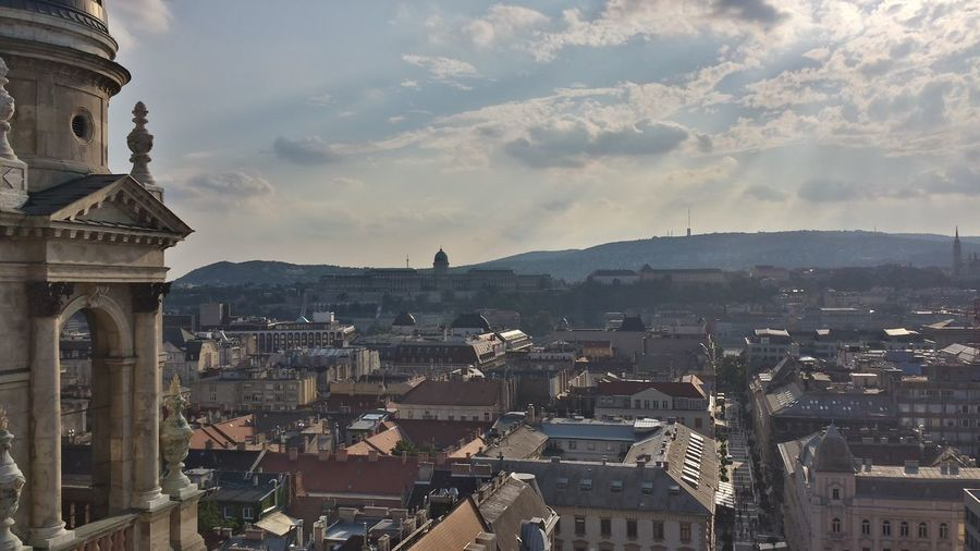 Cityscape Seen From St Stephen Basilica