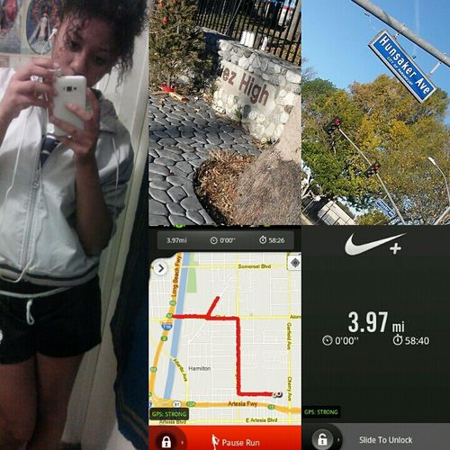 Could've been a Don but instead I'm a Saint Outta Shape I Was Out For 8 Weeks Morning Run Saints Dominguez Dominguez Dons SA Fuck Ankle Injuries Such A Horrible Time  No Excuses Tho