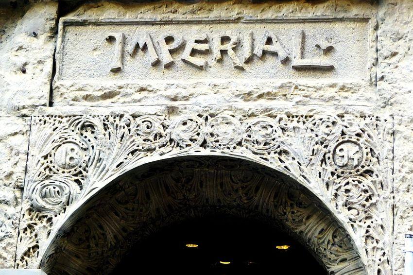 1894 Concrete Entrance Antique Building Old Building