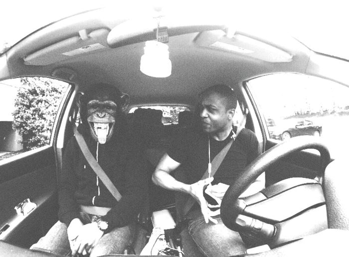Lets stop Monkeying Around ....weHanging Out Cheese! Blackandwhite Black And White
