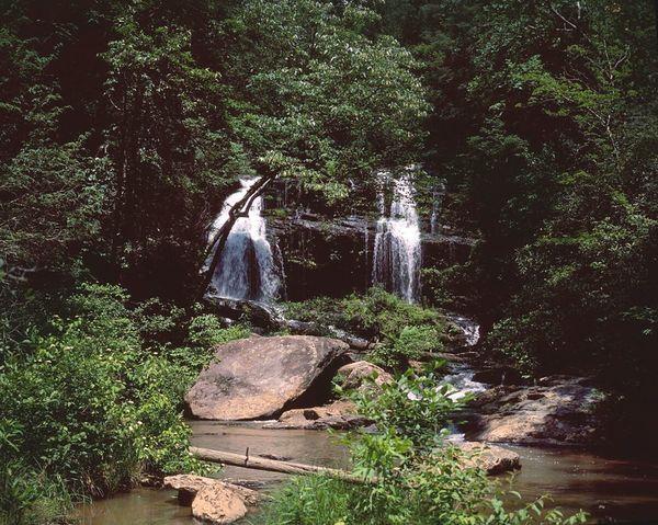 4x5  Large Format Nature Waterfall Velvia50 Photography Filmisnotdead