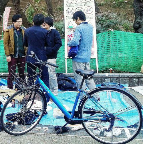 Bicycle Ueno Park Streetphotography Tokyo Dusk Tokyospring2016 Tokyouenospring2016 Uenopark2016 EyeEm Gallery EyeEm Japan EyeEM Tokyo Eyeem Streetphotography