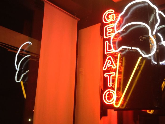 Gelato Ice-cream Parlor Sign