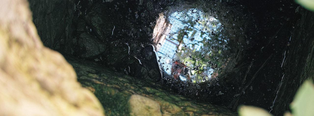 Panoramic View Of Manhole