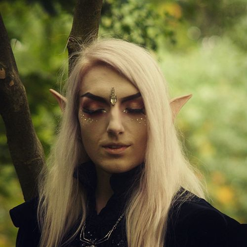 Kingdom of Elfs Cosplay Shoot Elf Portrait One Person Looking At Camera Adult Young Adult