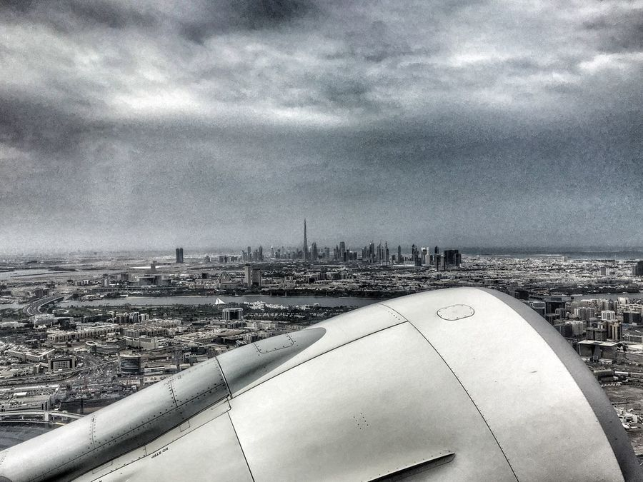 Dubai take off in a raining day Original Experiences Hello World Enjoying Life High Take Off Dubai Emiratesairlines Airbus