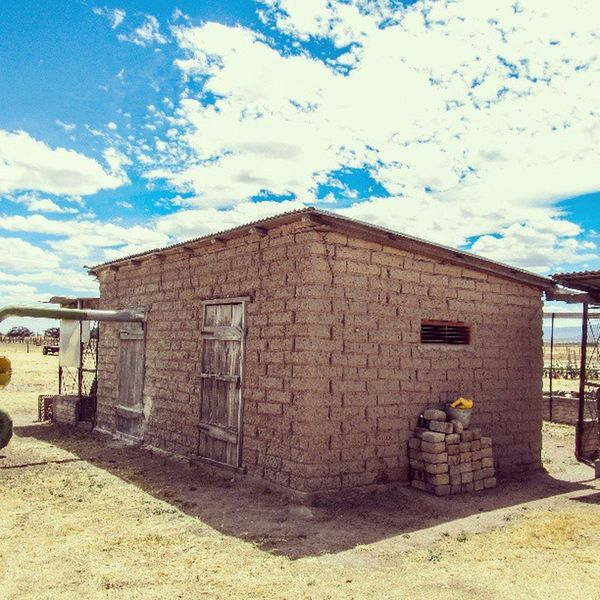Bonita finca de adobe Mexico2013 Nuevoideal Mudhouse Sunny durango