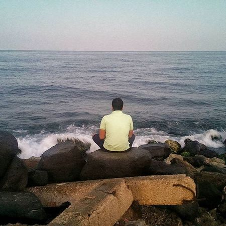 Looking At The Red Sea From The Opposite Side. Jeddah البيك_وبحر