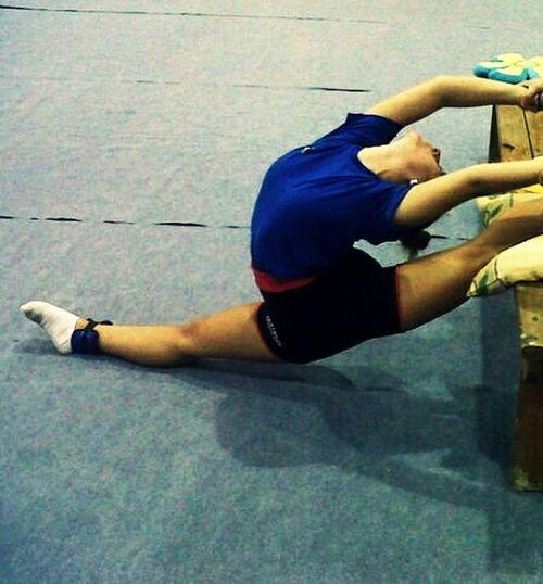 Rhythmic Gymnastics Training Sport Remembering People Of EyeEm Elastic Girl