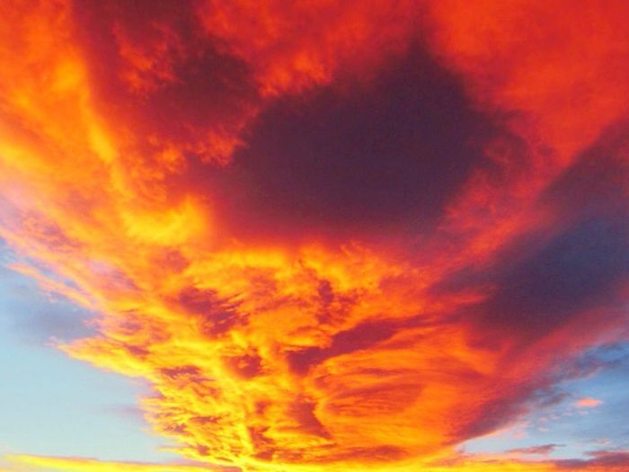 Colour Of Life Life In Colors Hello World Enjoying Life Pretty Country Sunset Magnificent Clouds And Color